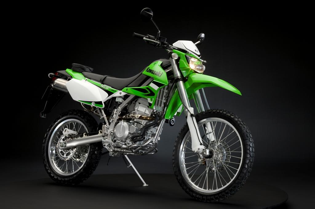 Kawasaki Klx250 Allround Enduro Feuerstuhl Das