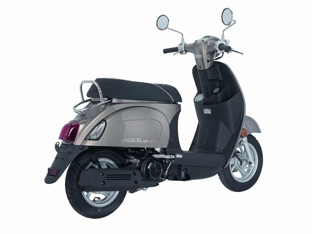 kymco new sento 50i feuerstuhl das motorrad magazin. Black Bedroom Furniture Sets. Home Design Ideas
