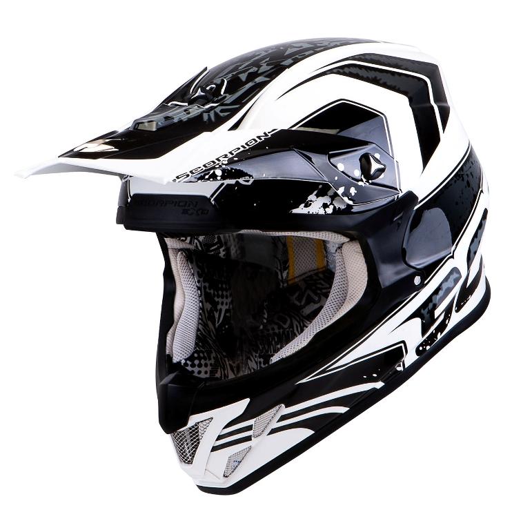 scorpion bringt neuen offroad helm feuerstuhl das. Black Bedroom Furniture Sets. Home Design Ideas