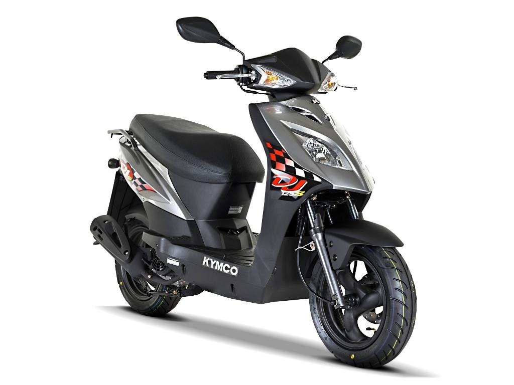 kymco dj 125 s noch ein 125er feuerstuhl das motorrad. Black Bedroom Furniture Sets. Home Design Ideas