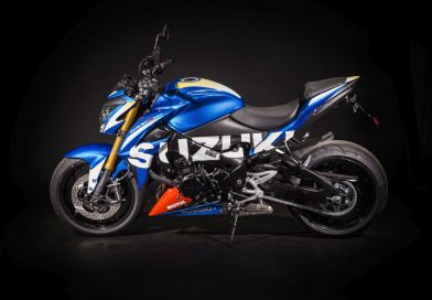 Moto-GP-Design für die Suzuki GSX-S 1000