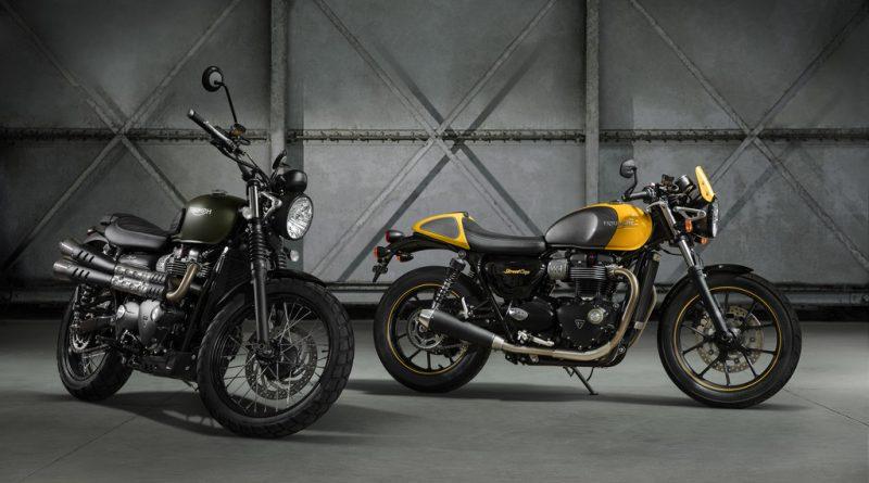 Triumph Bonneville Street: Neue Modelle
